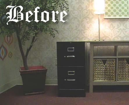 Paint A Filing Cabinet Fabulous Finish It With Wallpops