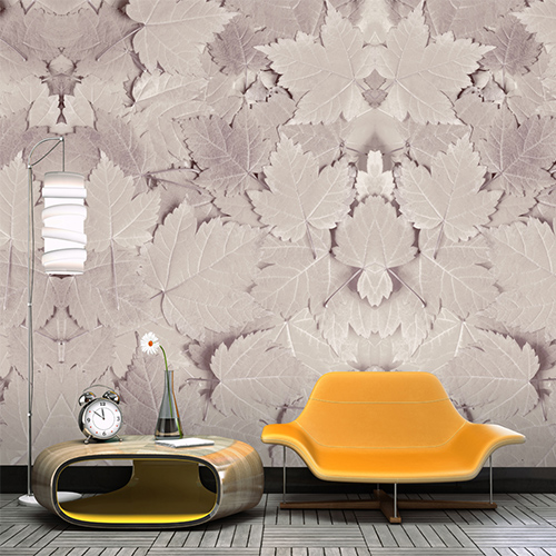 Fall Leaves Wall Mural M8951