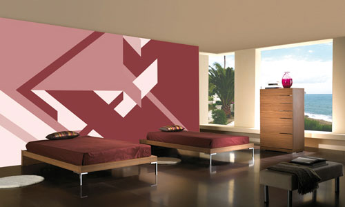 Angular Digital Wall Mural M9060
