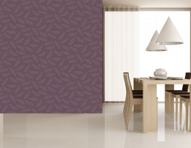 Radiate Violet Dining Room Wallpaper R1215