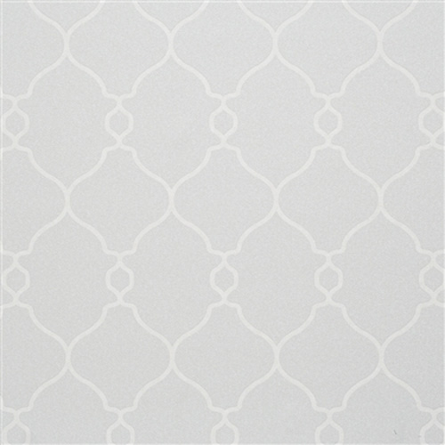 Grey Lattice Home Office Wallpaper R2550