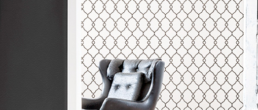 Lattice Home Office Wallpaper