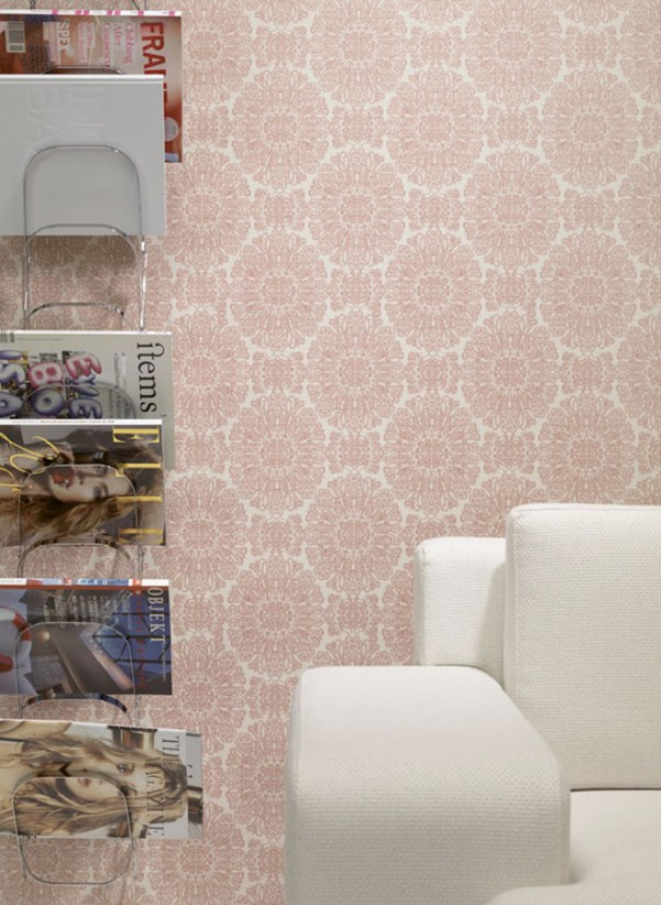 C6241 Medallion Patterned Commercial Wallcovering