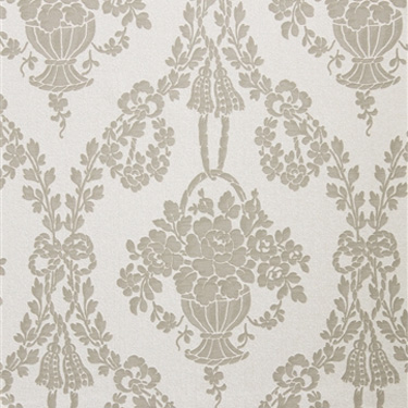 Walls Republic | Ecru Decorative Floral Traditional Wallpaper R2682