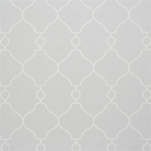Minimal Grey Lattice wallpaper with white curvy details