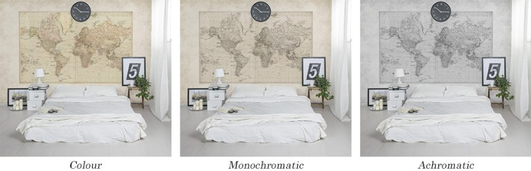 Vintage world map Walls Republic M9172