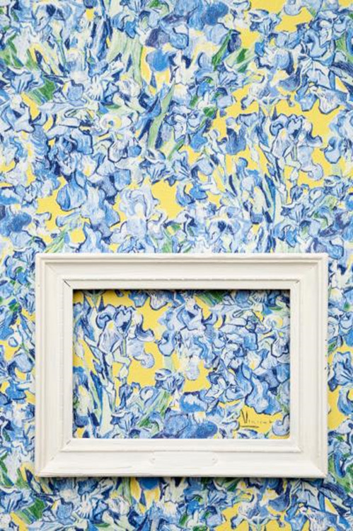 """Iris Flowers"" by Van Gogh Wallpaper by Walls Republic"