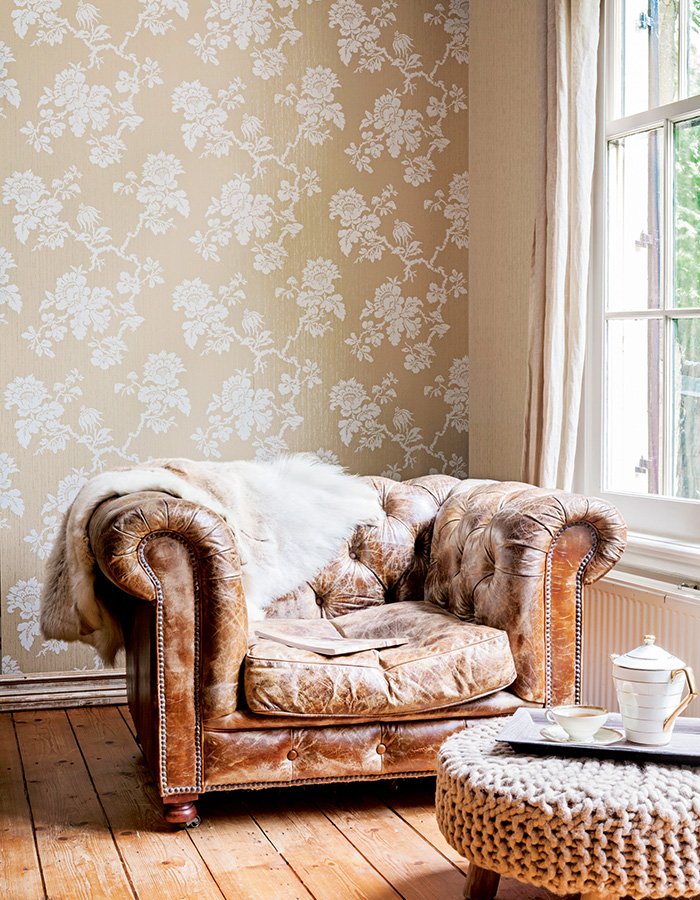 Ochre Divine Wallpaper R2624