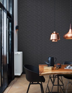 Black Delusional Geometries Wallpaper R2919