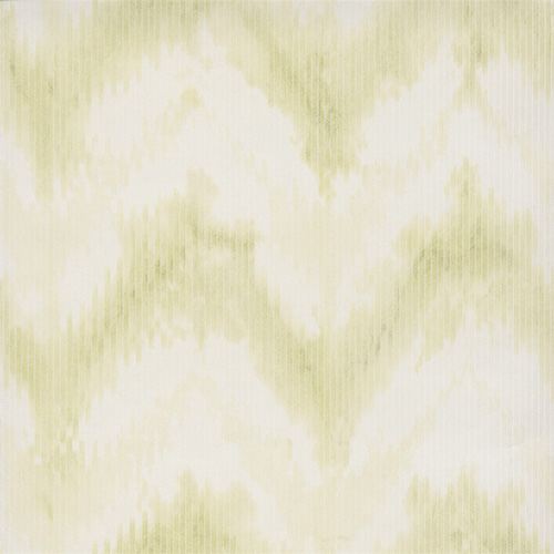 Lime Green Mod Chevron Wallpaper R2733