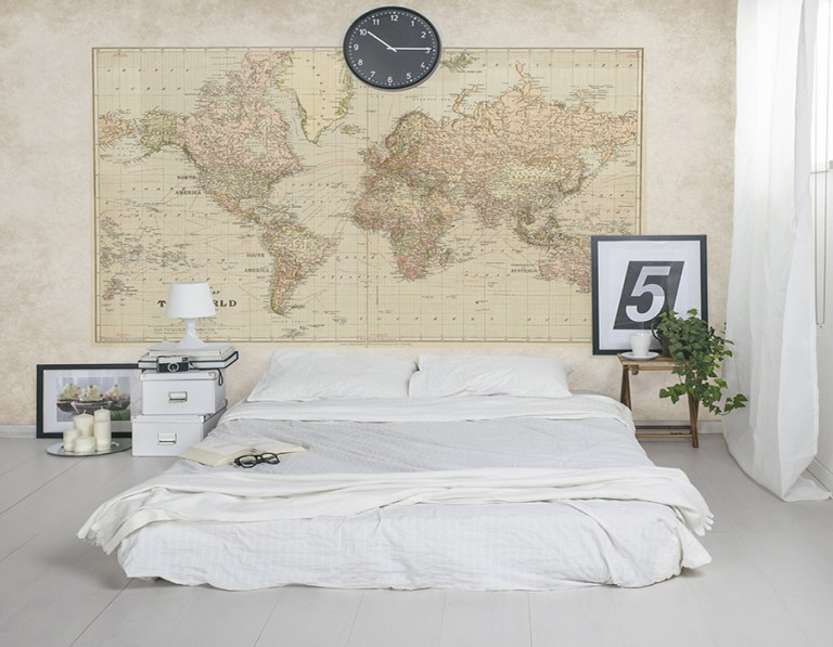 Vintage World Map M9172