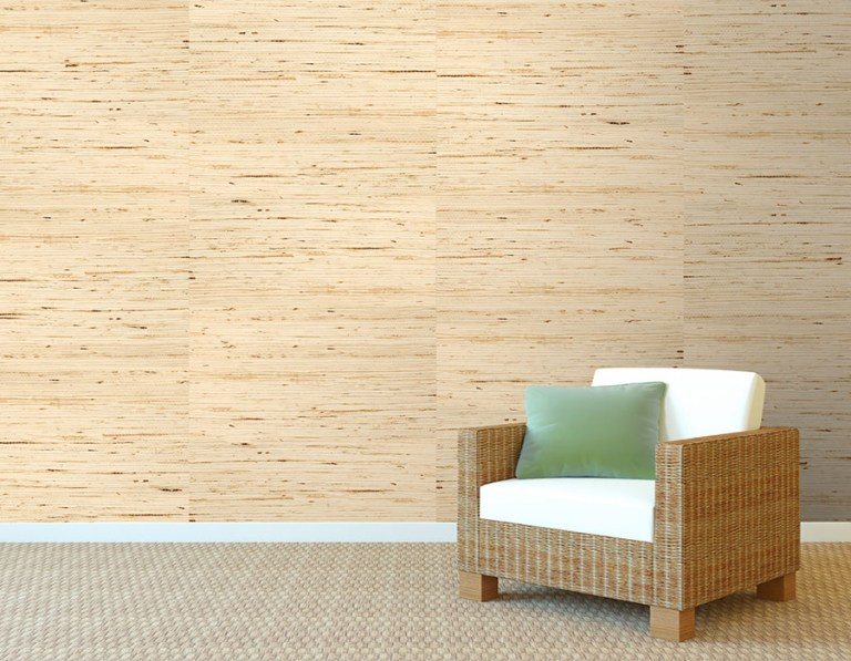 Arrowroot Off-white Grasscloth R1985