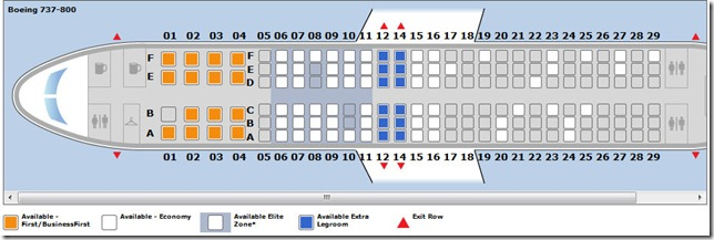 New Seat Maps Coming To Continental Booking Wandering