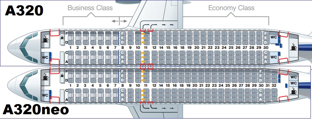 Where To Sit On The Lufthansa A320neo Wandering Aramean