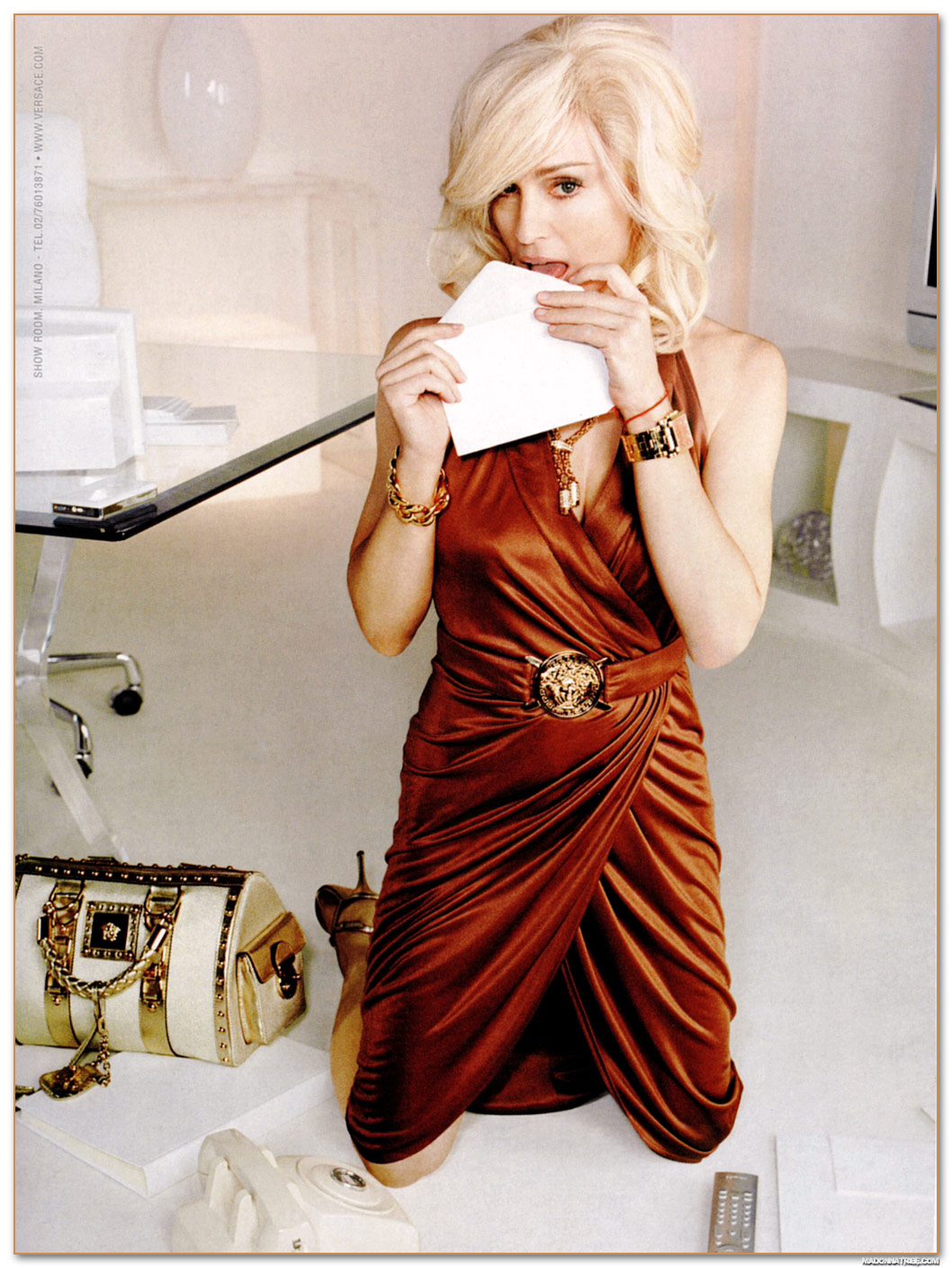 Eames Chair Vintage Versace Madonna Ad Campaign | Shelby White - The