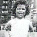 Nancy age 5 with curly hair
