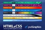 horizontal-html-css-menu