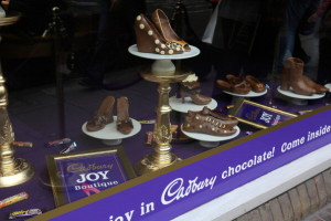 Shoe store front Cadbury