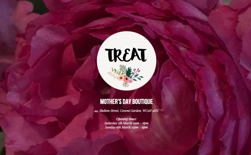 TREAT your Mama: the Mother's Day Pop Up Challenge