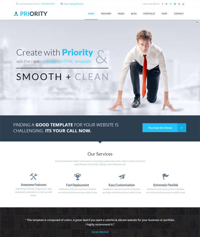 10 + State of the art Corporate Web Templates - how to create a website template