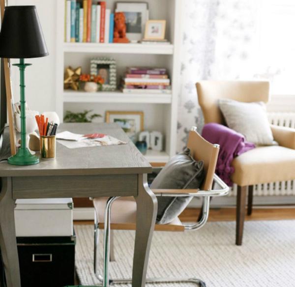 Living Room Computer Desk - Home Design - desk in living room