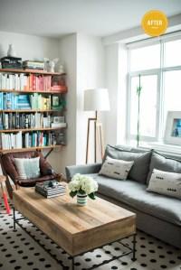 Van Broussard's Quick Living Room Makeover - Front + Main