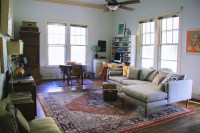 A Living Room ThatSurpriseIs Made For Living - Front + Main