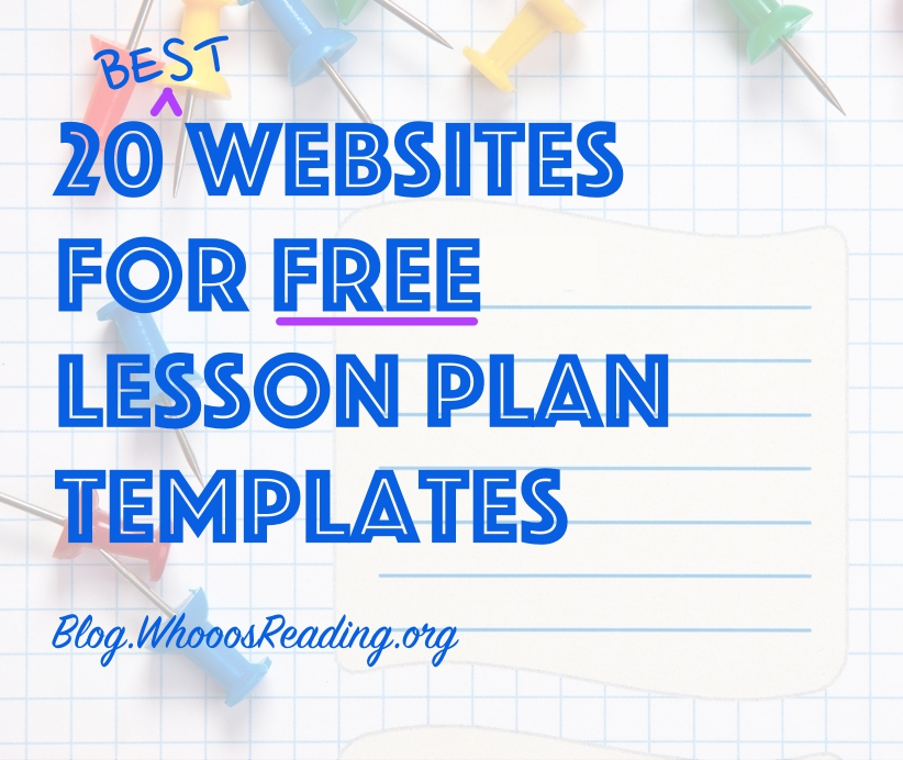 20 Best Websites for Free Lesson Plan Templates - elementary lesson plan template