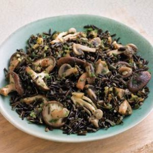 Wild Rice & Mushroom Pilaf