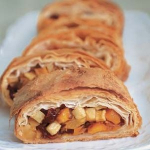 Autumn Fruit Strudel