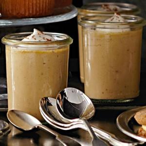 Pumpkin Pots de Crème