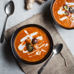 Curry Red Pepper & Tomato Soup