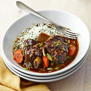 Short Ribs Braised with Ginger and Soy