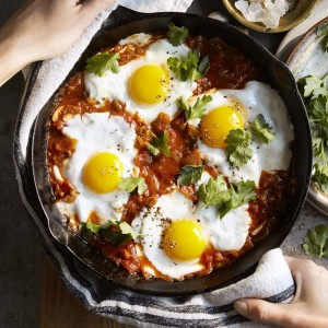 Eggs Baked in Tomato Paprika Sauce