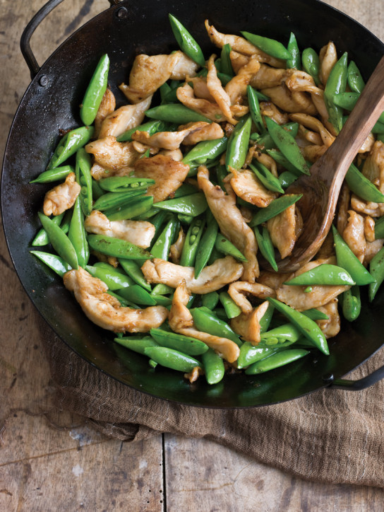 Chicken & Sugar Snap Stir-Fry