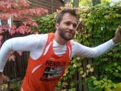 Runner Jonathan Hendler