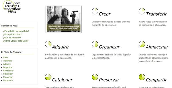 ArchiveGuide Spanish screenshot