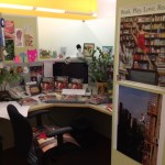 We love it when our authors come in for a little redecorating… @JordanMatter