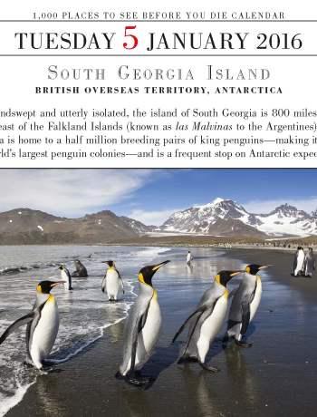 #TravelTuesday South Georgia Island