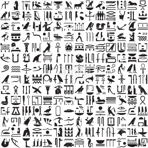 Ancient Egyptian Hieroglyphics Alphabet Chart - Best Of Alphabet