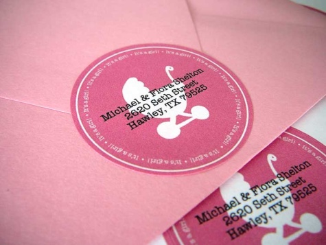 Free Baby Shower Labels in Printable PDF Worldlabel Blog - Free Baby Shower Label Templates