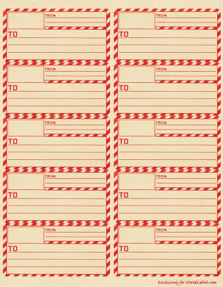 printable mailing lables