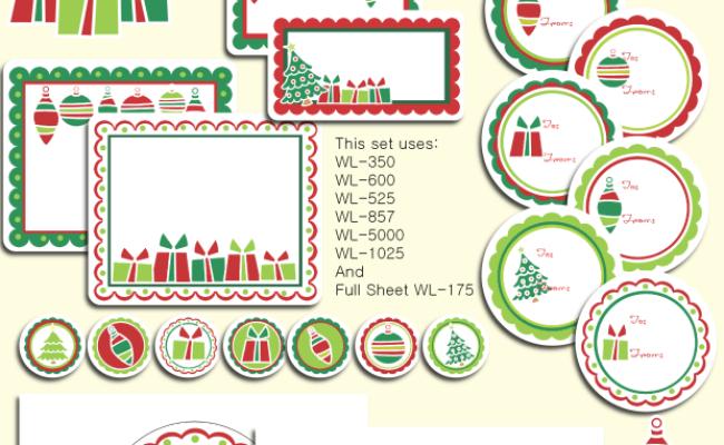 Holiday Christmas Labels Christmas Templates Christmas Christmas