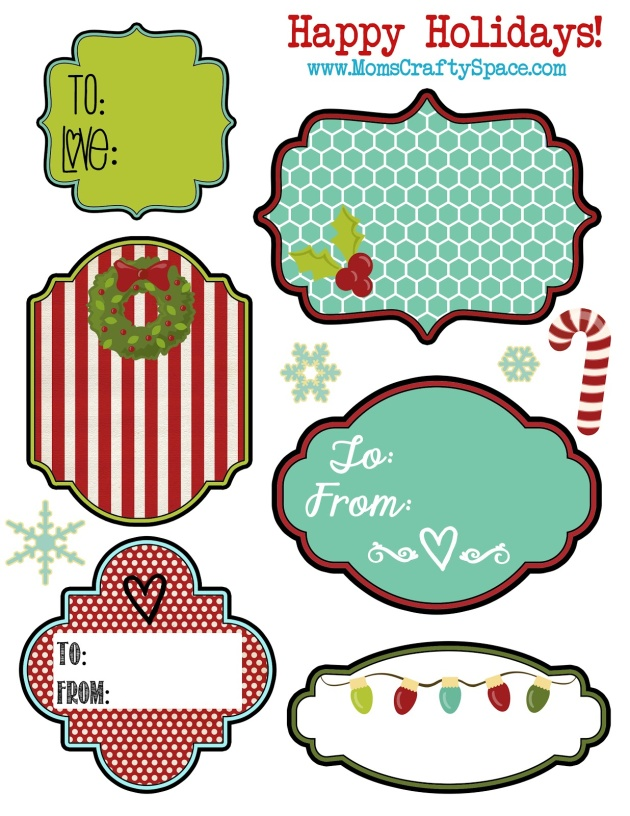 Free Printable Holiday Gift Labels and Tags Worldlabel Blog