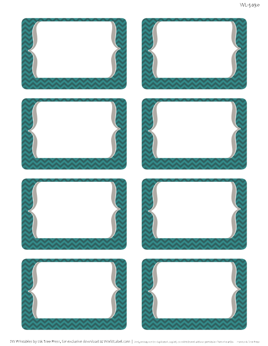mail labels template