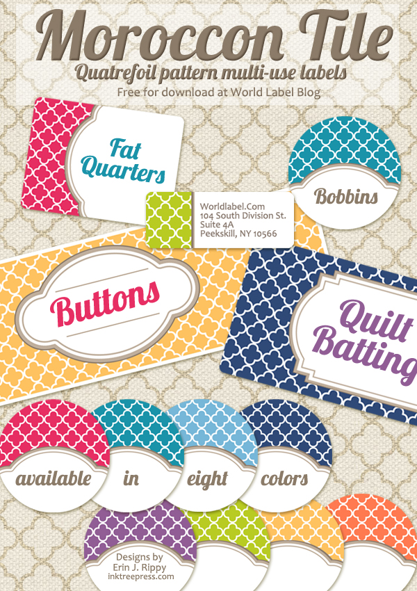 Different Shapes, Branding Label Kits and Misc