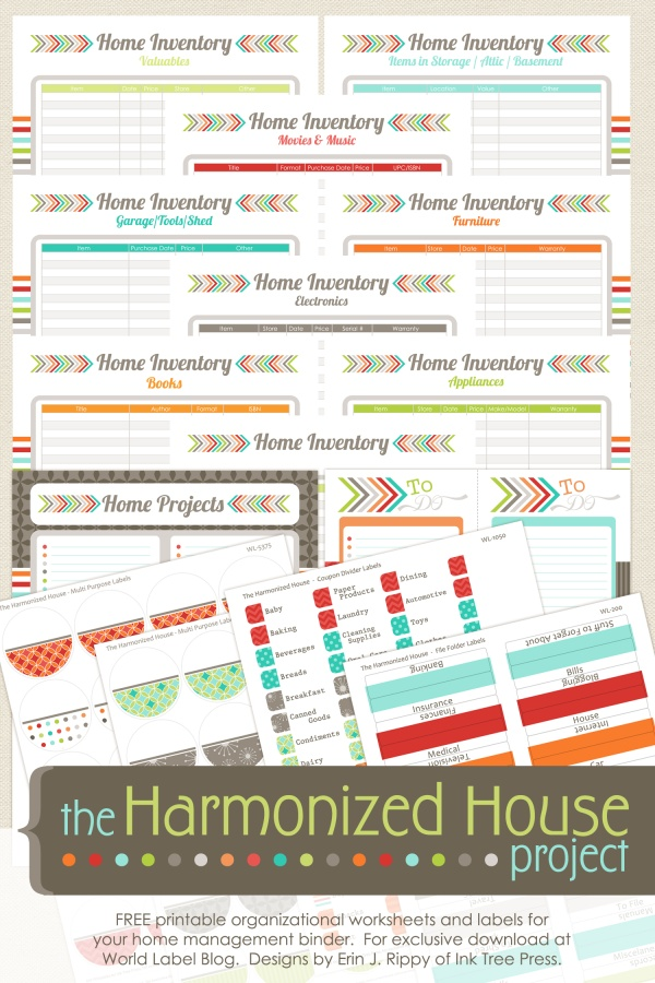 Inventory Organizing Control The Harmonized House Project