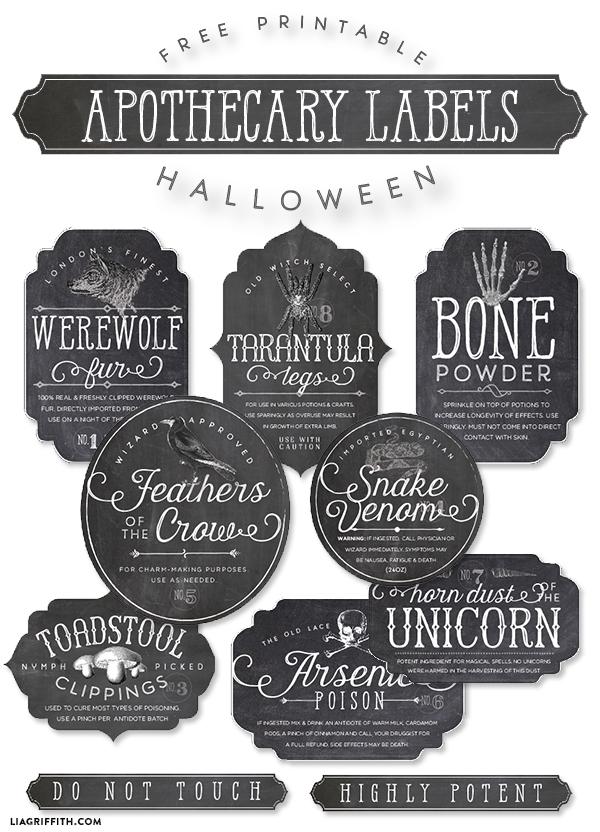 Printable Halloween Apothecary Bottle Labels Worldlabel Blog