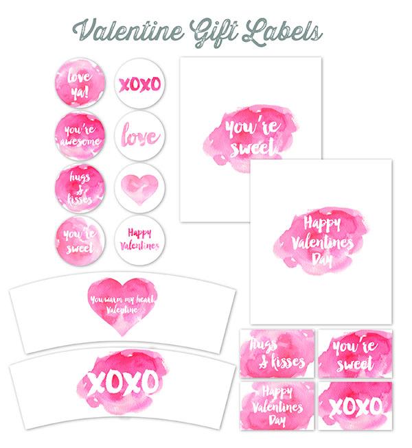 Valentine\u0027s Day Labels for Your Sweet Treats Worldlabel Blog