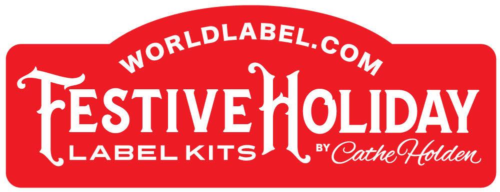 Free Festive Holiday Label Kits by Cathe Holden Worldlabel Blog - label
